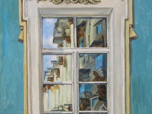 Отражение.Окно
