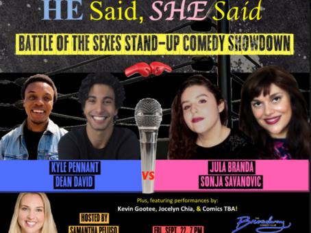 He Said, She Said: Battle of the Sexes