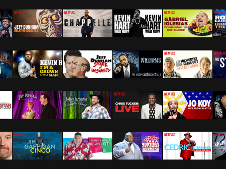 2017 Comedy on NetFlix: My Top 5
