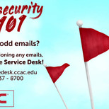 Cybersecurity Red Flags Motion Graphics