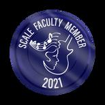Scale Faculty Sticker