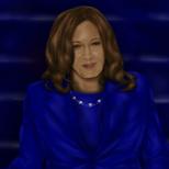 Kamala Harris Digital Painting