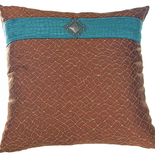 Jewel Center Euro Pillow - 6004