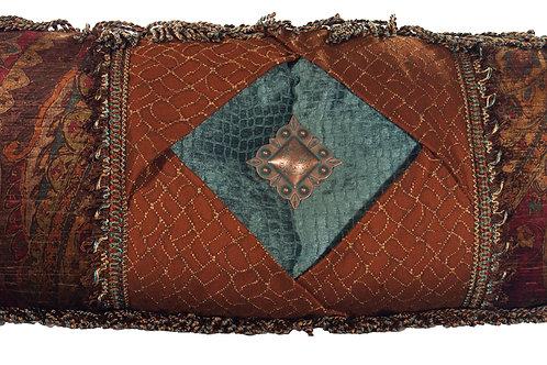 Jewel Bolster Pillow - 6006
