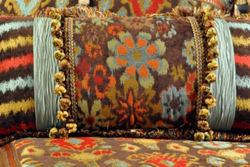 Wildflowers Bolster Pillow - 4456