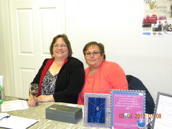 Colleen Sparks and Barb Letendre
