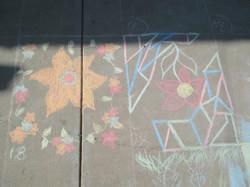 Sidewalk Chalk Drawing Contest