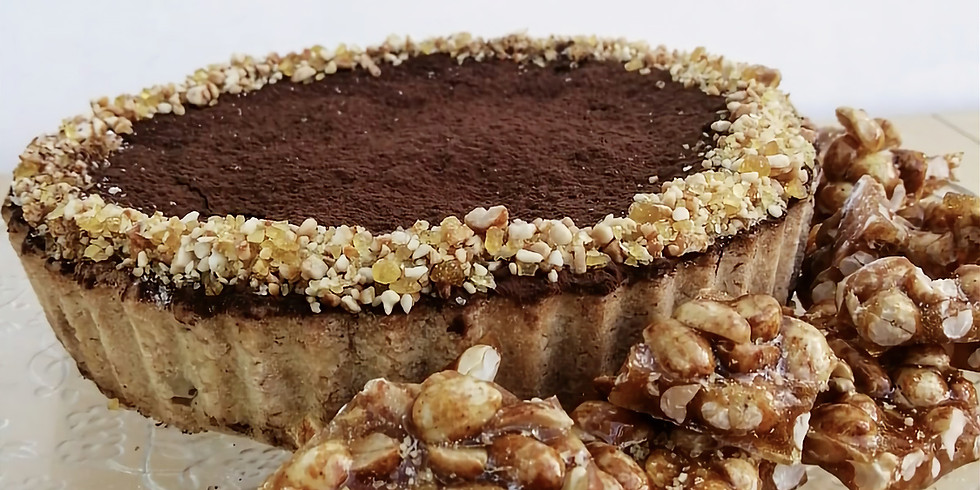 Karen's Chocolate Peanut Tart