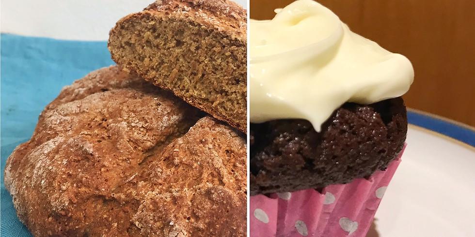 Andrew's Wheaten Bread & Guinness Cupcakes