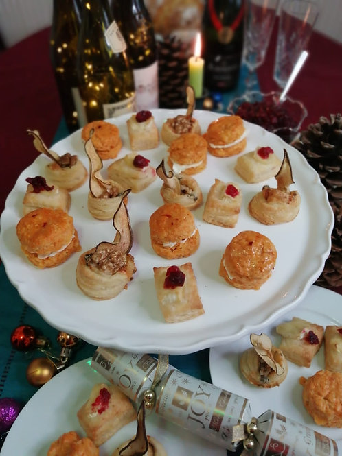 Karen's Festive Canapés Class - 27th Dec 8pm UK