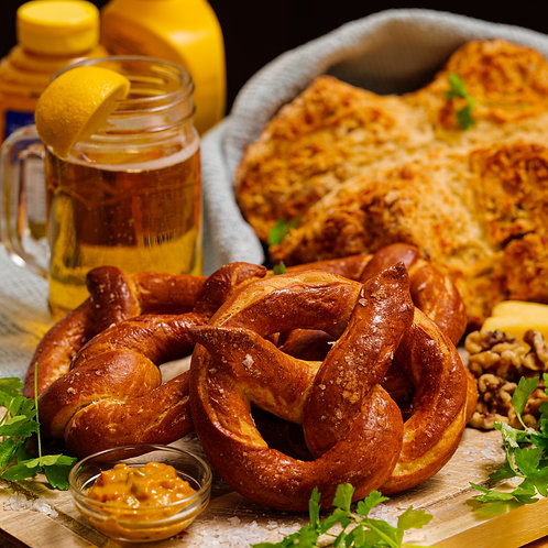 Dan's Online Soft Pretzel & Soda Bread Class - Sat 9th Jan -  5pm  UK