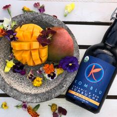 Did we mention we have mango kombucha?