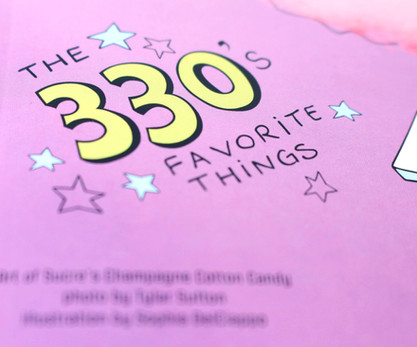 The 330's favorite things