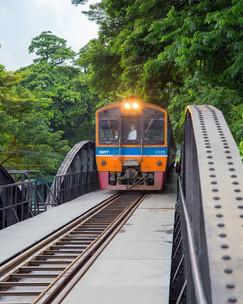 Bridge on the River Kwai - Kanchanaburi