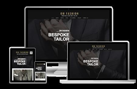 Om Fashion Web design