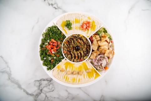 Mix Mazzah Platter