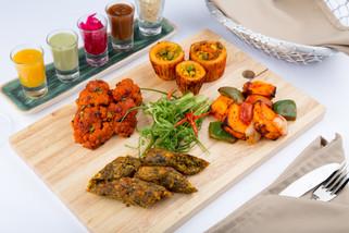 Vegetarian Mix Platter