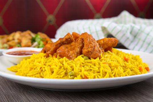 Kabsa with Chicken