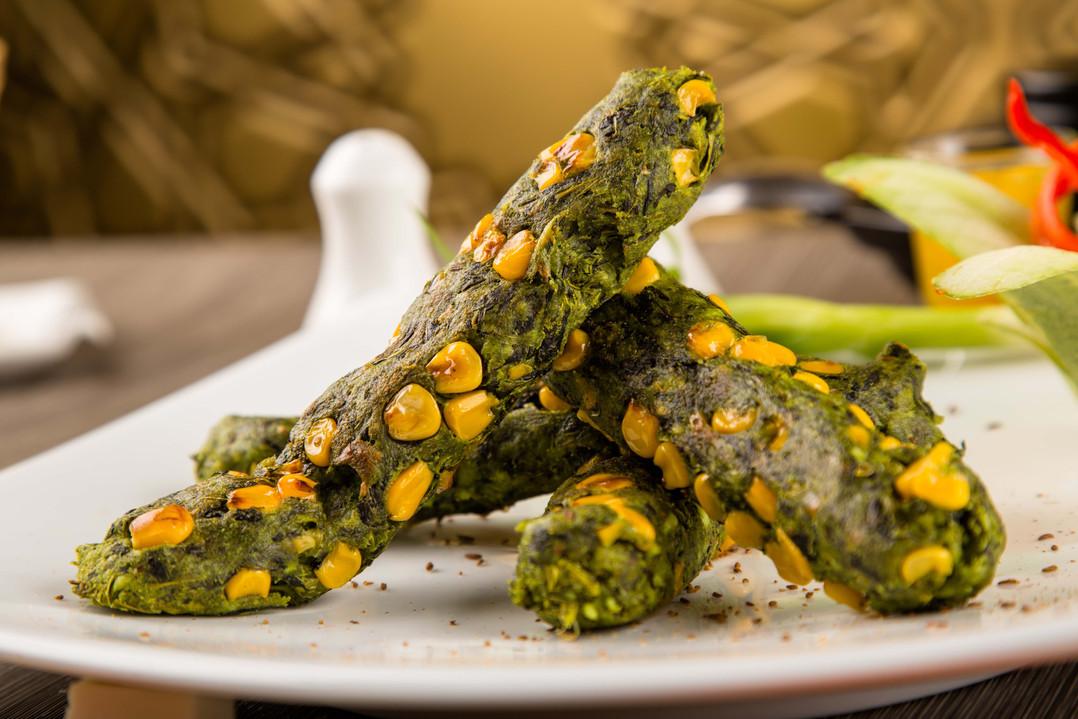 Spinach Kebab