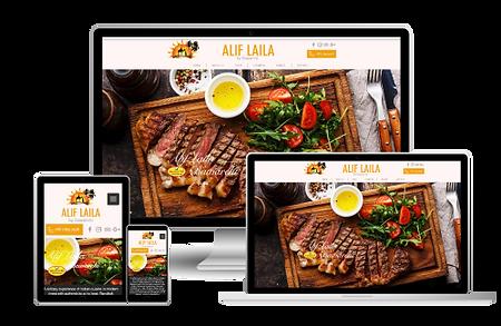 Ali Laila web design