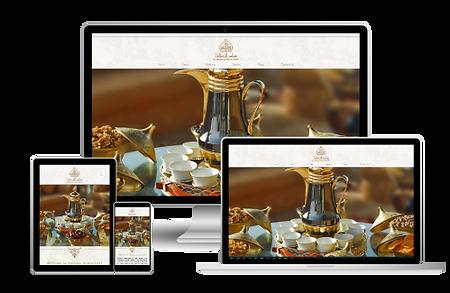 al andalus restaurant web design