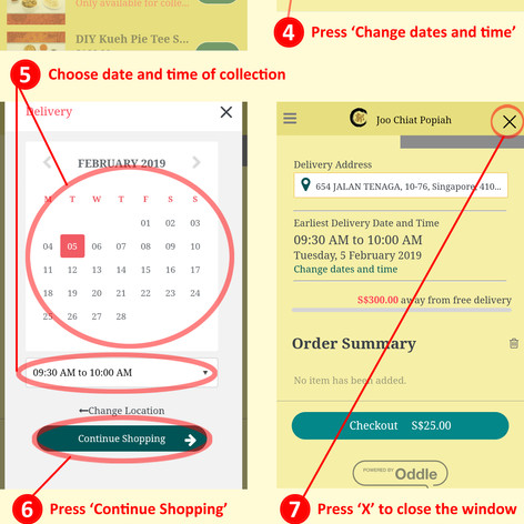 Order using PHONE