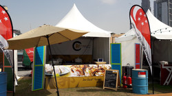 Our event stall setup in Dubai