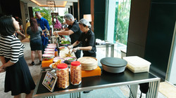 Promoting Peranakan culture by food