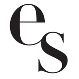 "Emer Schlosser's logo, which is an ""e"" and an ""s"""