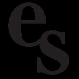 """Emer Schlosser's logo, which is an """"e"""" and an """"s"""""""