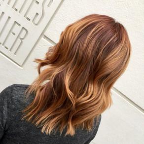 Schnitte und Stylings für schulterlanges Haar