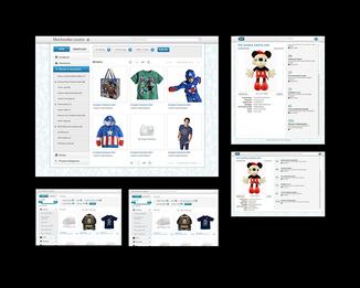 Disney Merchandise Locator UX design
