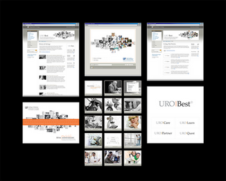 UF Department of Urology website re-design and rich-media anniversary demo