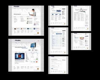 Panda Security website redesign