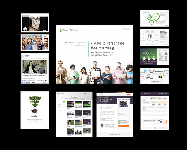 SharpSpring's marketing and sales funnels