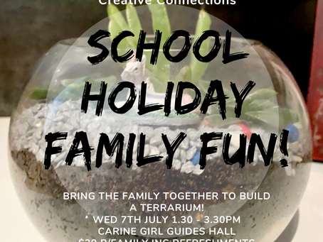 Creative Connections: Family School Holiday Fun