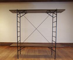 Ladder Shelf チーク無垢材 4