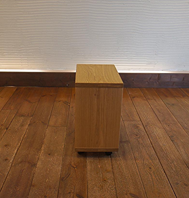 Side Table E ナラ無垢材 3
