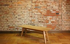 Living Table SA ナラ無垢材