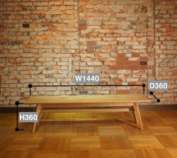 Sofa Table SA 144 サイズ