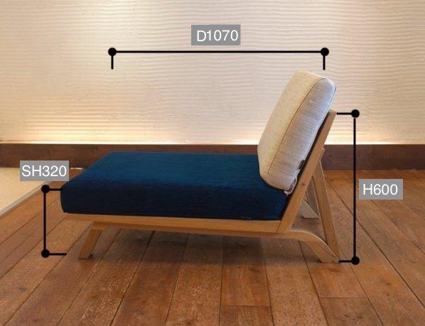 BM Sofa 1人掛け サイズ