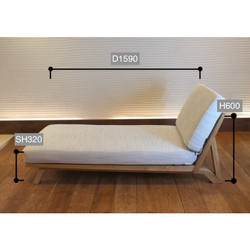 BM Sofa 1人掛けロング サイズ