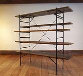Ladder Shelf チーク無垢材