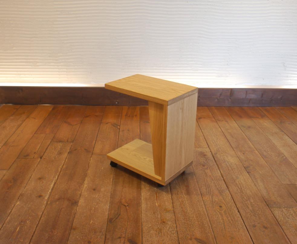 Side Table E ナラ無垢材 4