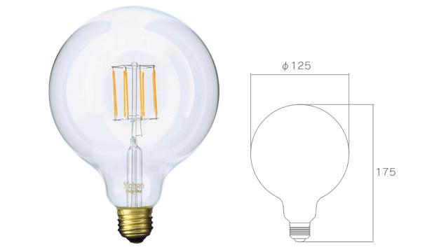 新商品 LED電球 Siphon