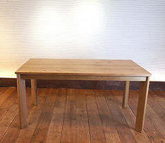 Dining Table SQ ナラ無垢材