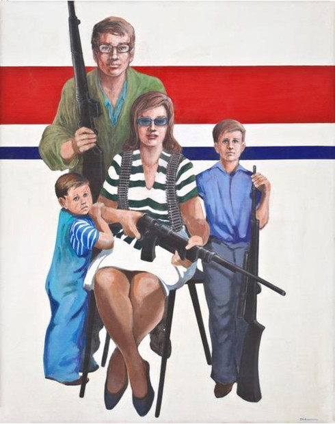 Americas Future Family 48x38