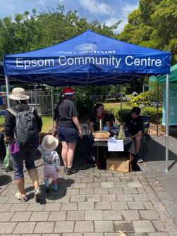 Epsom Community Centre gazebo