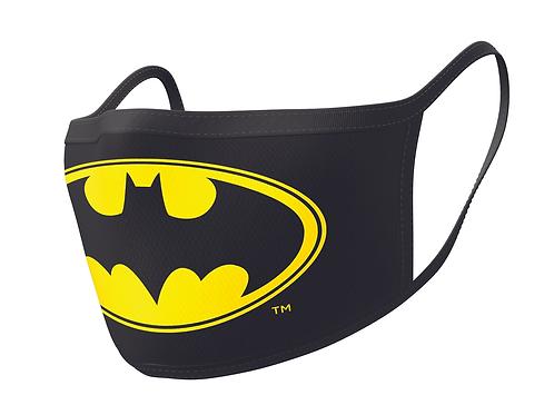 Official Batman Face Mask Double Pack