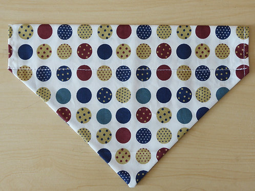 Big Dot Print Bandana